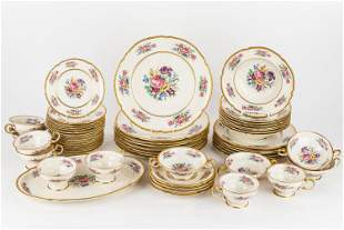 Castleton Rose China- Partial Service for 8