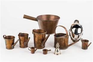 Copper & Silver Plate Kitchenware
