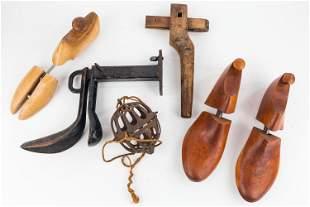 Shoemaker's Tools & String Ball Holder