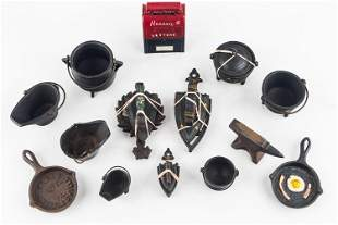 Cast Iron Amish Country Miniatures