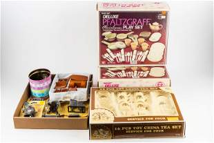 Doll Furniture and Toy China Sets