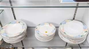 Mikasa Intaglio CAC08 Dinner Plates & Soup Bowls