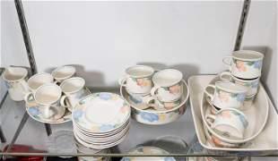 "Mikasa Intaglio ""Garden Poetry"" Pottery Dinnerware"