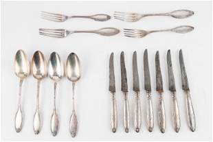 French Silver Plate Flatware