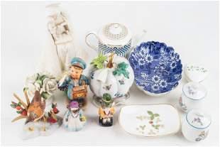 Hummel, Vista Alegre & Other Decorative Items