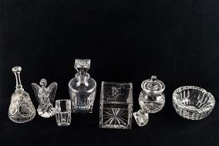 Waterford & Other Crystal Grouping