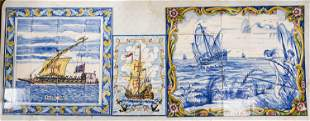 Azupal Pombal Hand-Painted Ceramic Tiles