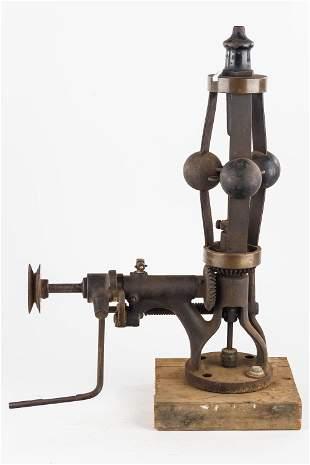 Unusual Railroad Steam Engine Governor
