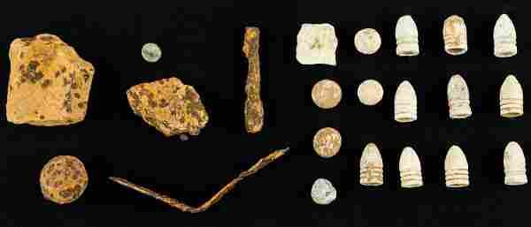 Civil War Battle of Antietam Artifacts