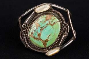 Native American Antique Silver Bracelet