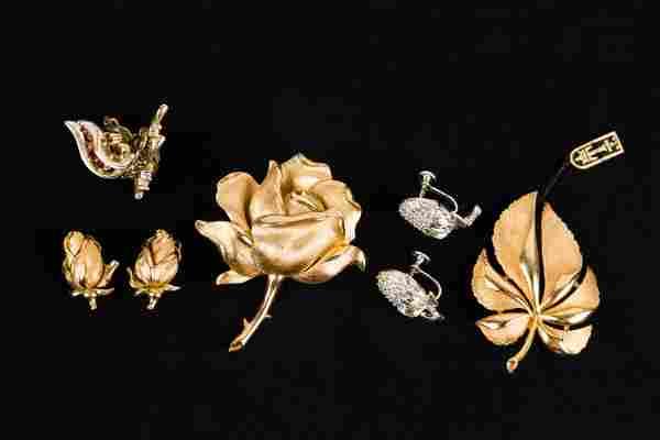 Trifari and Vintage Estate Jewelry