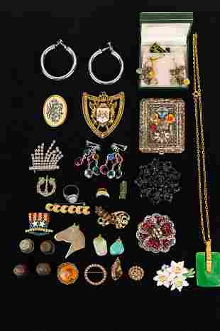 Eclectic Vintage Jewelry Collection
