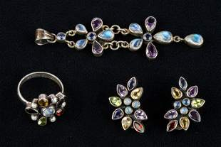 Sterling & Gemstone Vintage Jewelry Collection
