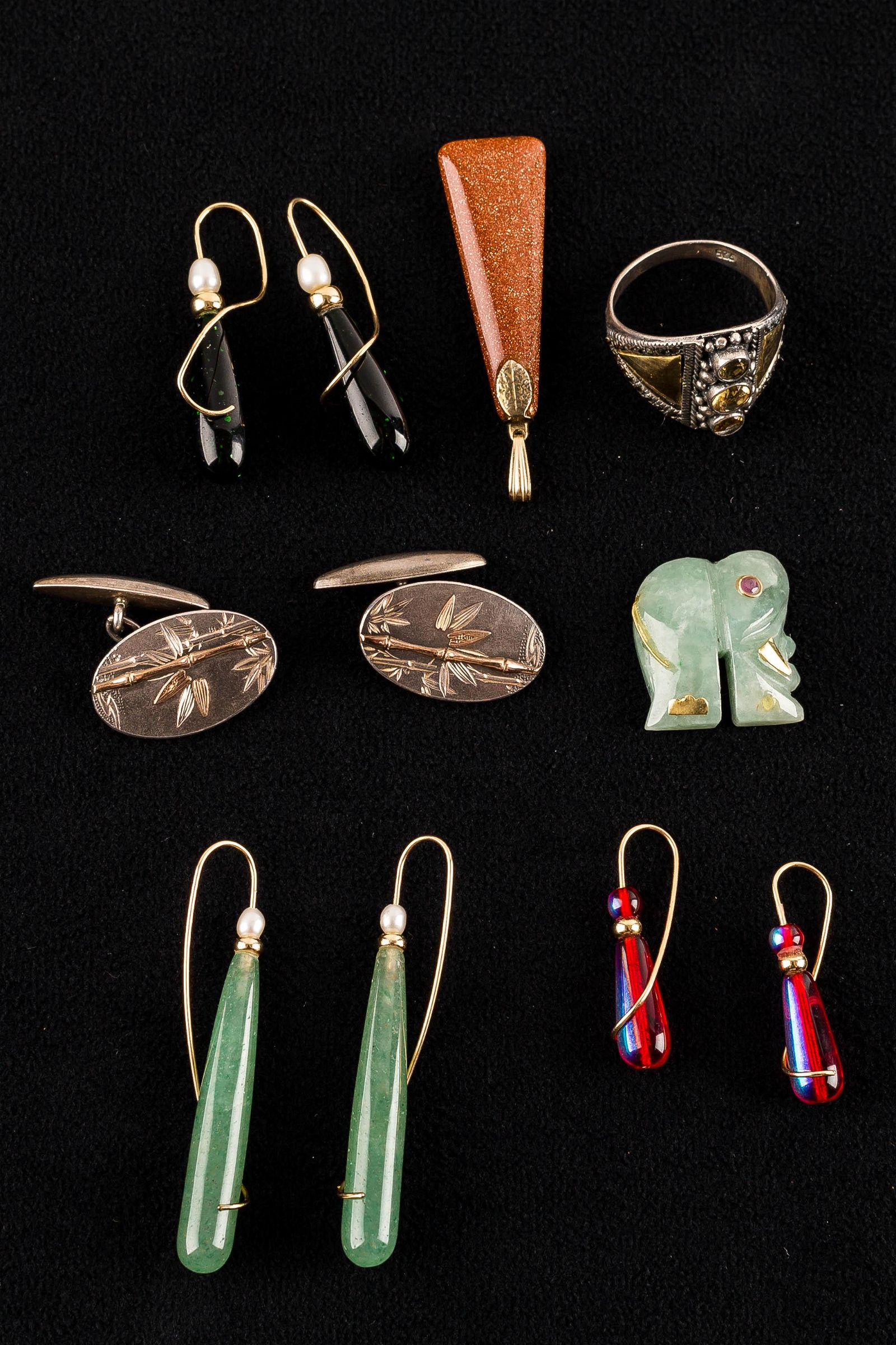 14k & Sterling Vintage Jewelry Collection