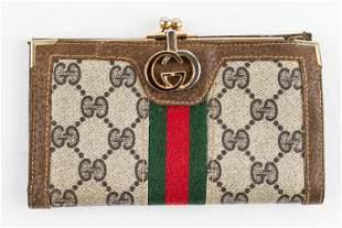 Gucci Designer Vintage Wallet
