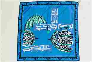 Emilio Pucci Vintage Silk Scarf