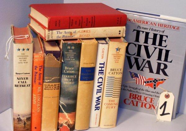 1: Bruce Catton Lot of Ten Books