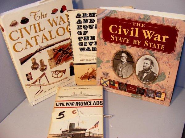 5: Civil War related Books