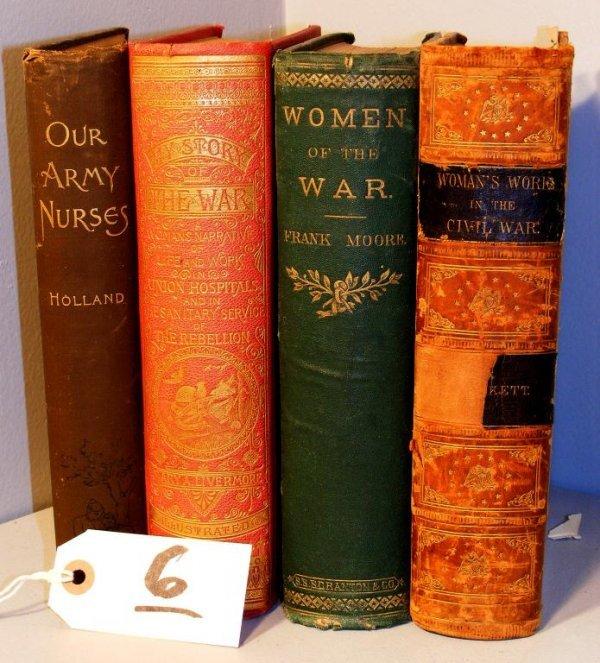 6: Women of the Civil War Books