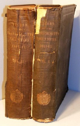 7: Records of the the Mass. Volunteers 1868