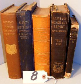 New Hampshire Civil War Regimental Books