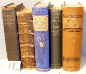 11: Civil War History related Books