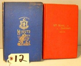 12: Mass. related Civil War Books