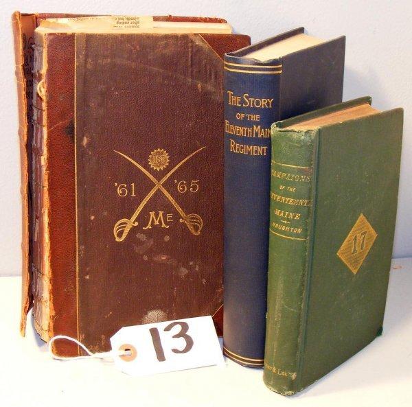 13: Maine Regimental Books