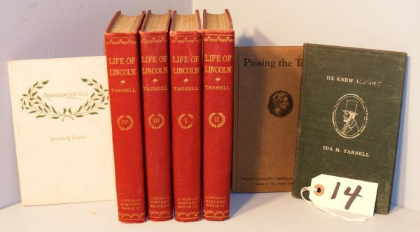 14: Lincoln Related Books
