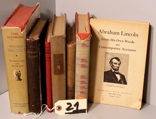 21: Lincoln related Books (7)