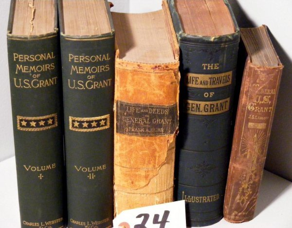 24: Ulysses.S. Grant related Books