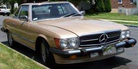 1000: Mercedes-Benz 1985 380L Hard Top Convertible