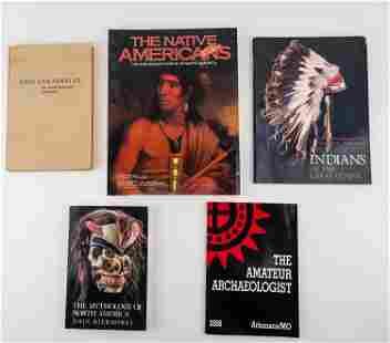 Native American Reference Books (5)