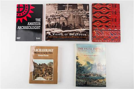 Archeological and Historical Books (5)