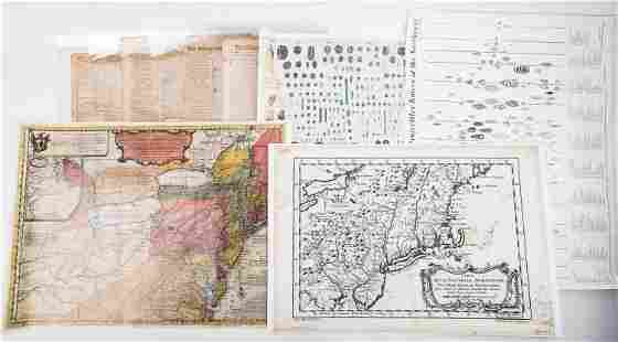 Early PA Newspapers, Maps, Color Charts