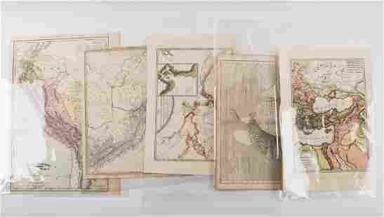 Authentic Early / 18th C Maps