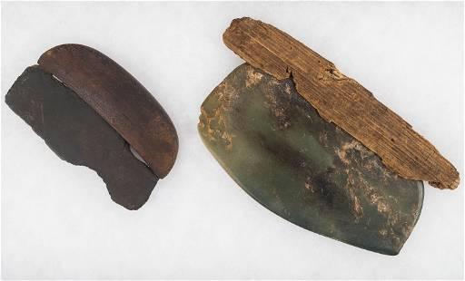 Inuit / Ulu Jade Blade and Slate Blade