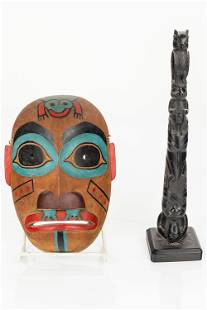 Pacific Northwest Mask and Totem
