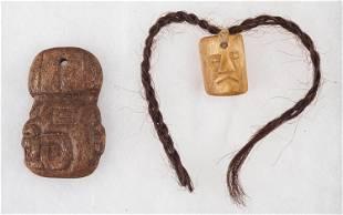 Inca /Chavin / Moche Pendants (2)