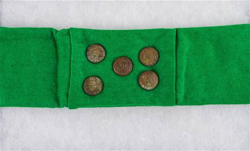 19th C US Indian Service Buttons