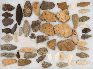 Native American Artifacts (Assorted) (>50)