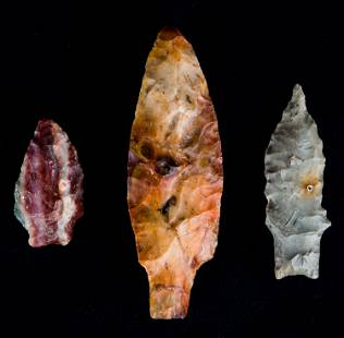 Southern Native American Arrowheads