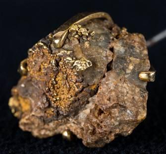 CA Gold Rush Nugget Hat Pin