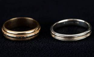 14K Gold Bands / Rings (2)