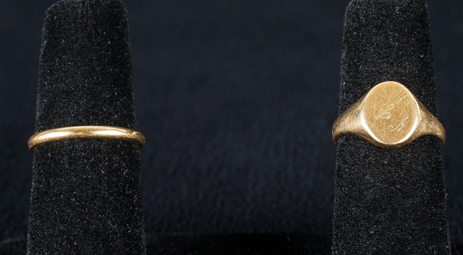 14K Gold Rings (2)