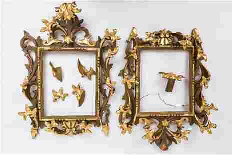 Rococo Giltwood Frames (Pair)