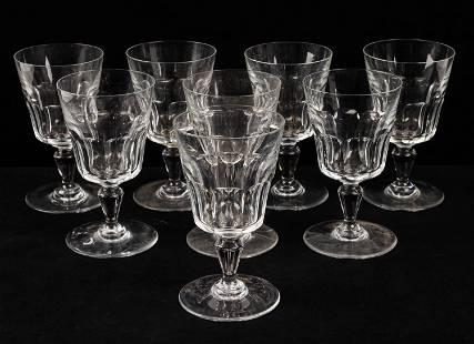Baccarat Water Glasses (8)
