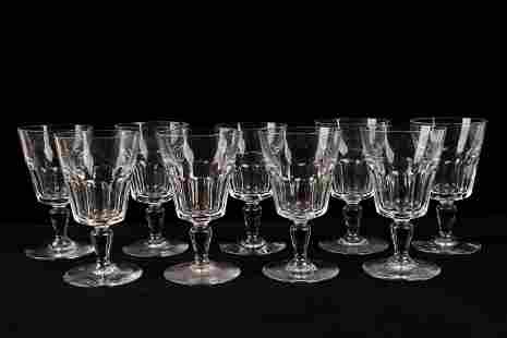 Baccarat Water Glasses (9)