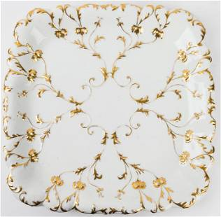 Ed Honore Paris Porcelain Charger / Tray