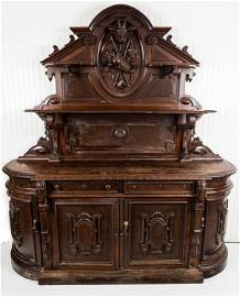 19th C Black Forest Side Board